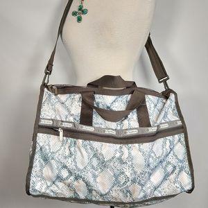 LeSPORTSAC duffel overnight weekender travel bag